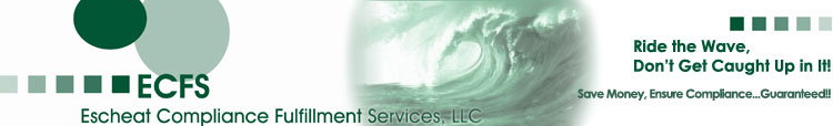 Escheat Compliance Fulfillment Services, LLC - Unclaimed Property Compliance Specialist